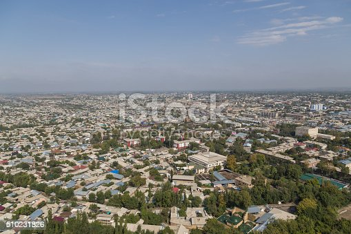 istock Osh skyline as seen from Sulaiman Mountain 510231826
