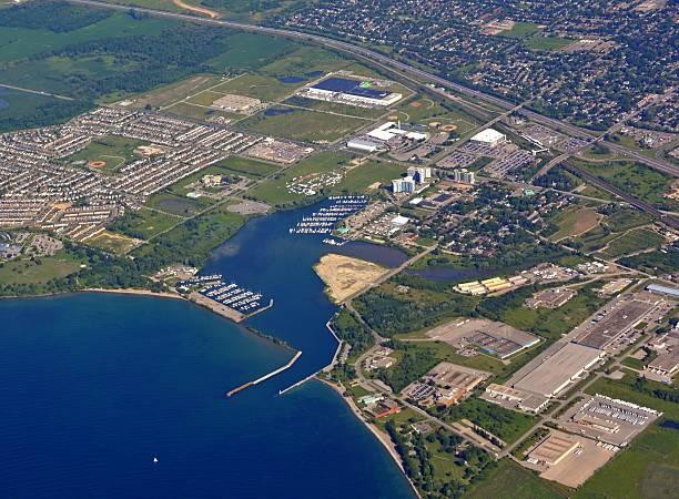 Oshawa Küste, Luftaufnahme – Foto