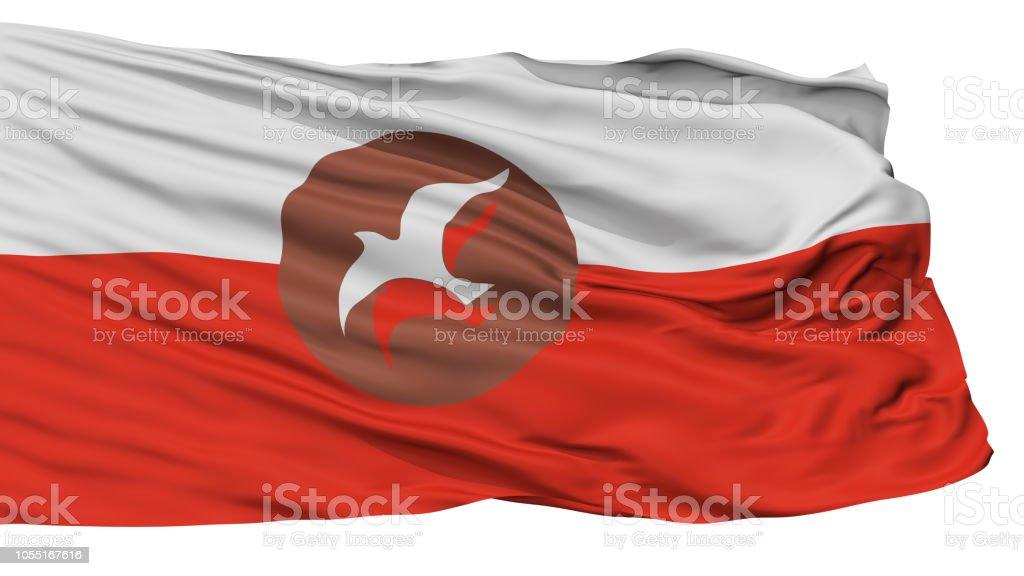 Osho Flag, Isolated On White stock photo