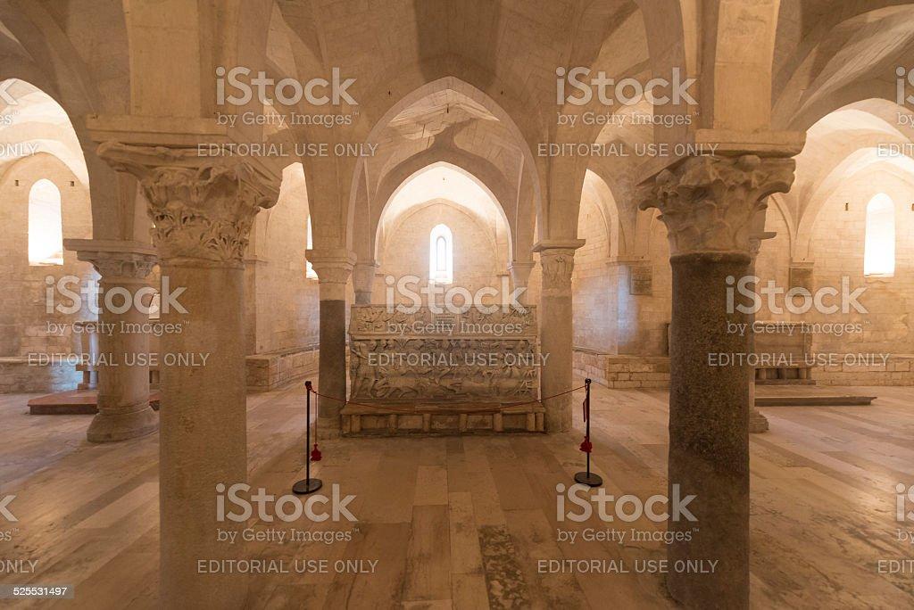 Osimo (Italy): cathedral stock photo