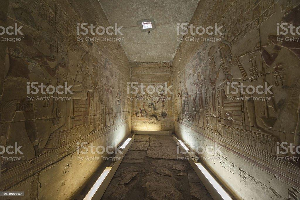 sala Osiris stock photo
