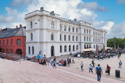 Oslo Central Station Stock Photo - Download Image Now