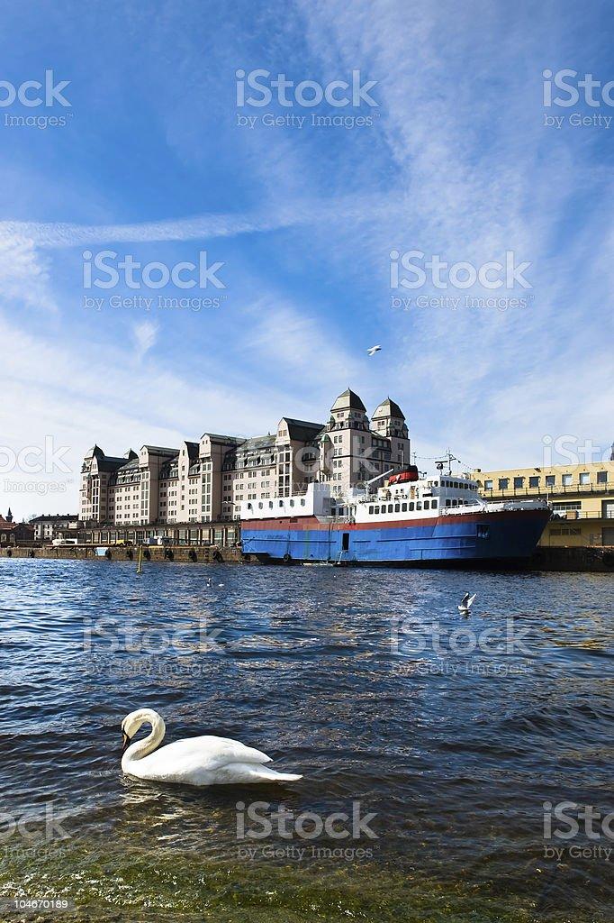 Oslo city royalty-free stock photo