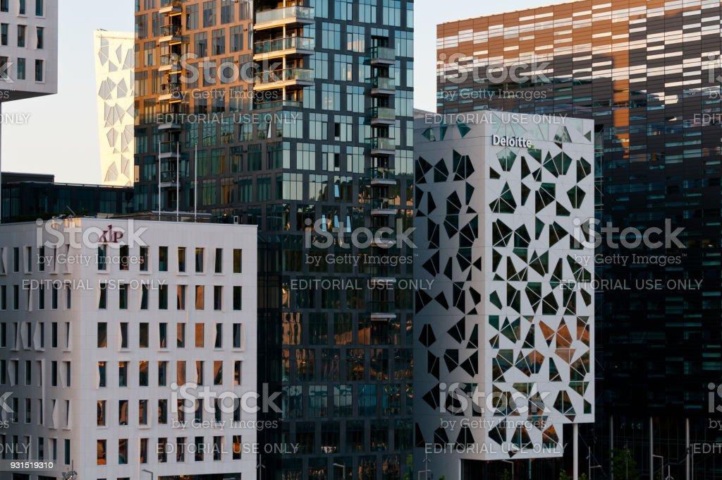 Oslo Downtown stock photo