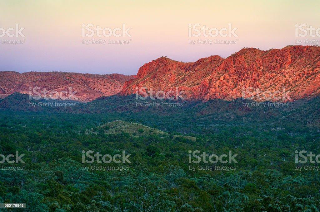 Osmand Lookout, Bungle Bungles National Park stock photo