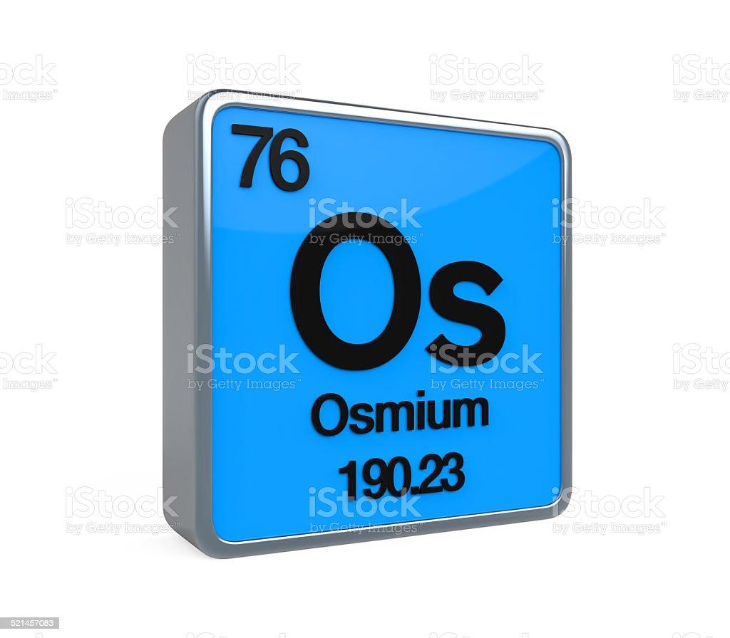Osmium element periodic table stock photo istock osmium element periodic table royalty free stock photo urtaz Choice Image