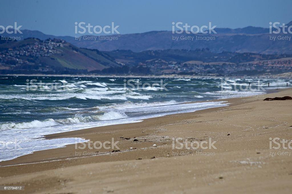 Oso Flaco Beach stock photo