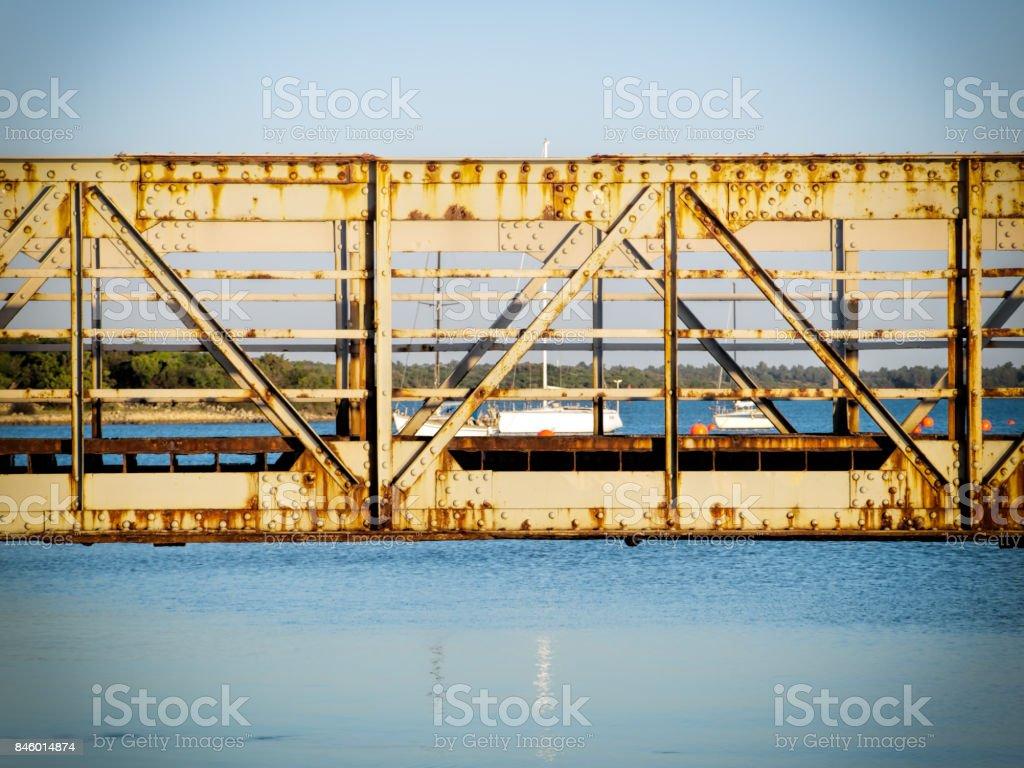 Osor bridge stock photo