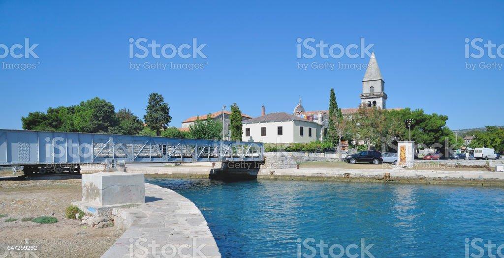 Osor,Cres,adriatic Sea,Croatia stock photo
