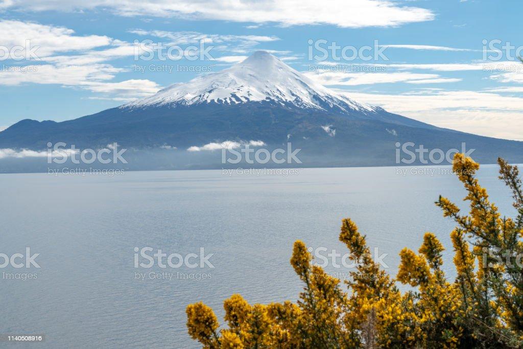 Osorno Volcano In Chilean Lake District Puerto Varas Chile