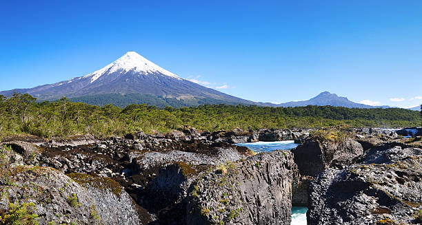 Osorno-Vulkan, Patagonien, Chile – Foto