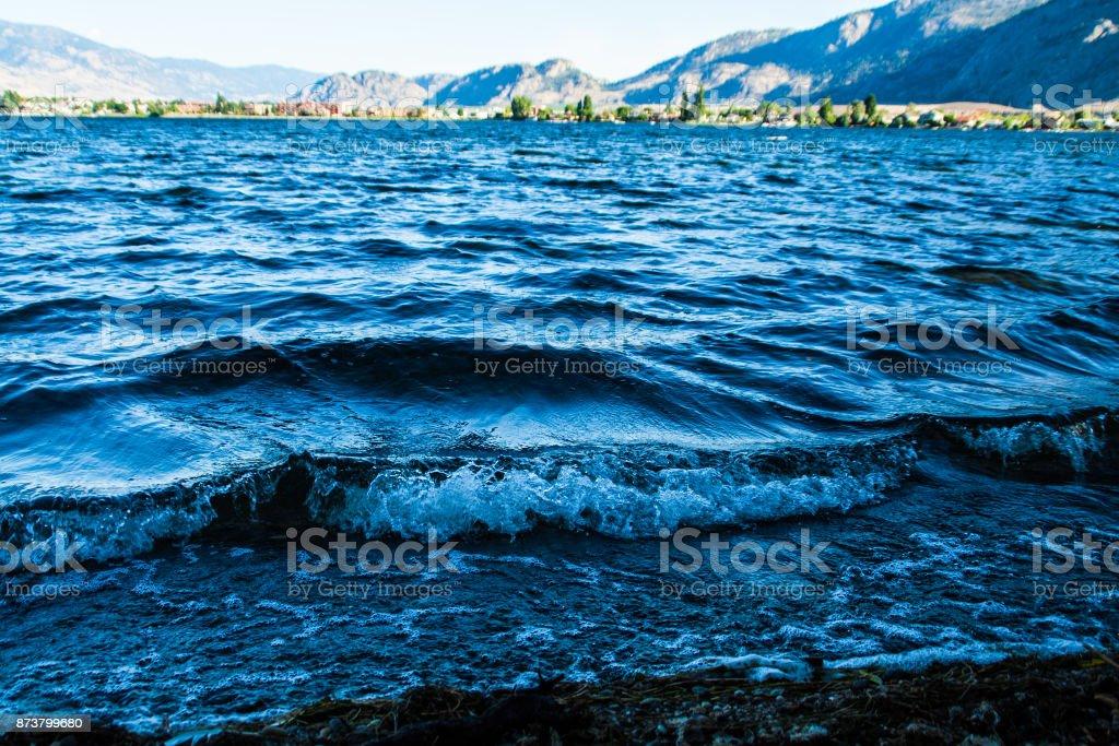 Osoyoos Lake stock photo