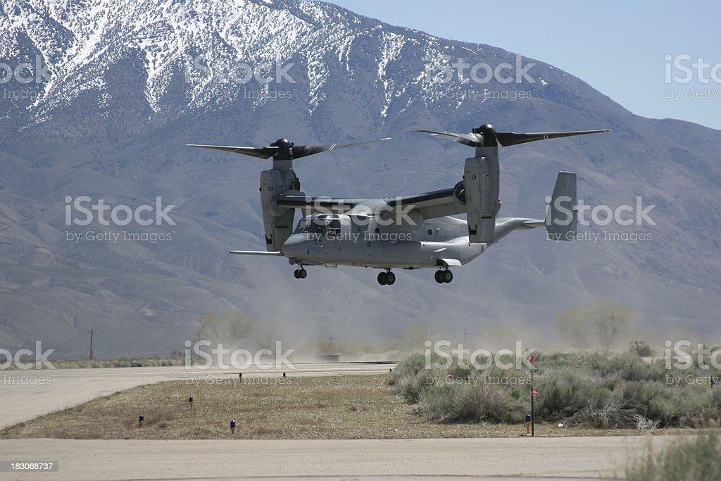 Osprey V-22  Helicopter 03 stock photo