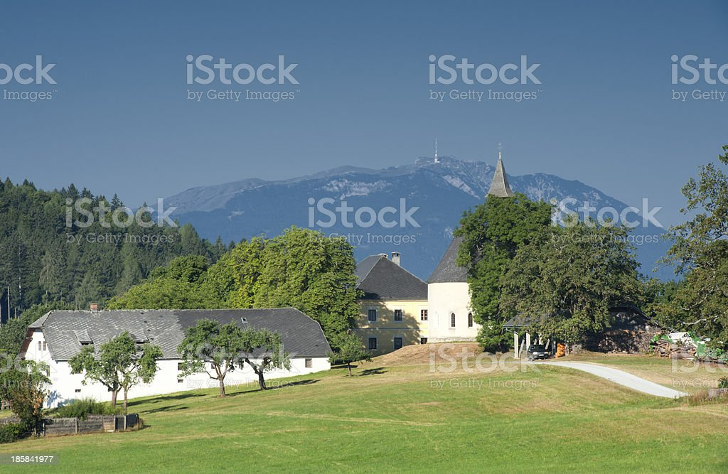 Ossiacher Tauern royalty-free stock photo