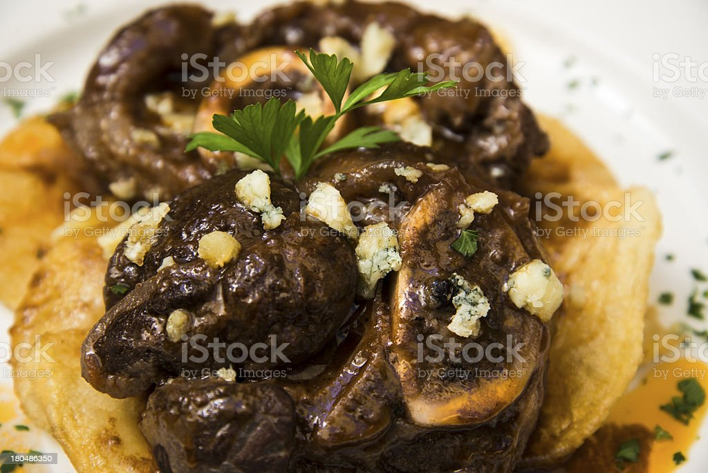 Ossobuco royalty-free stock photo