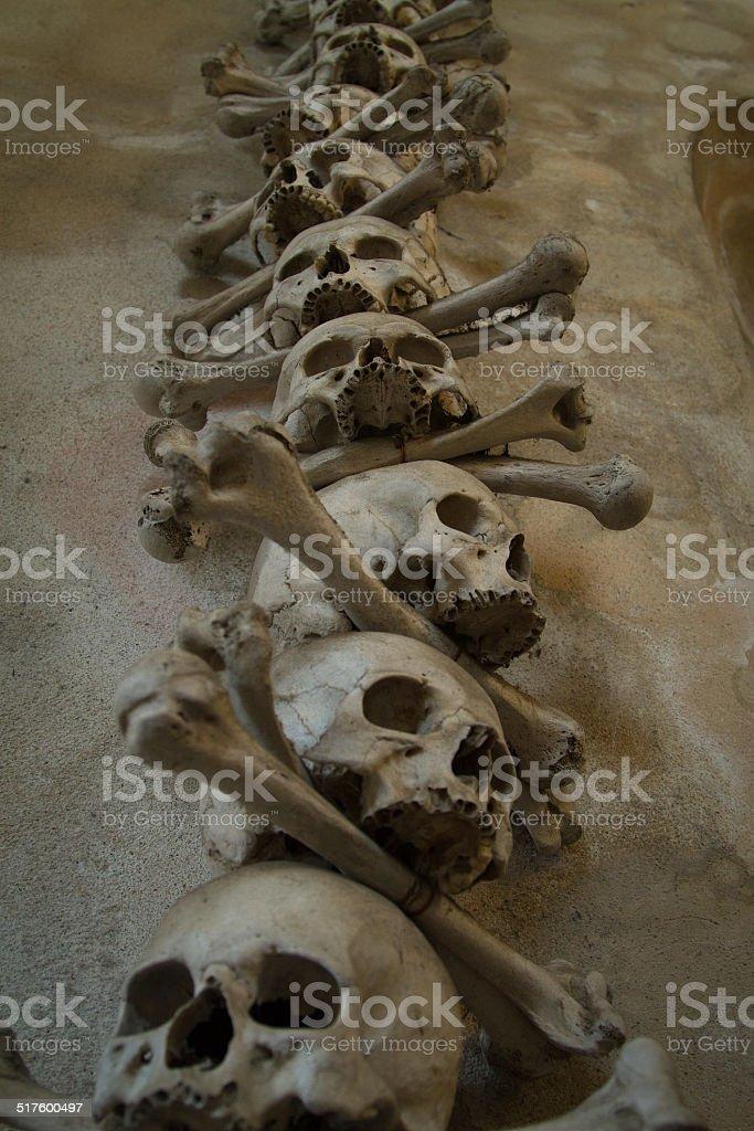 Ossuary. stock photo