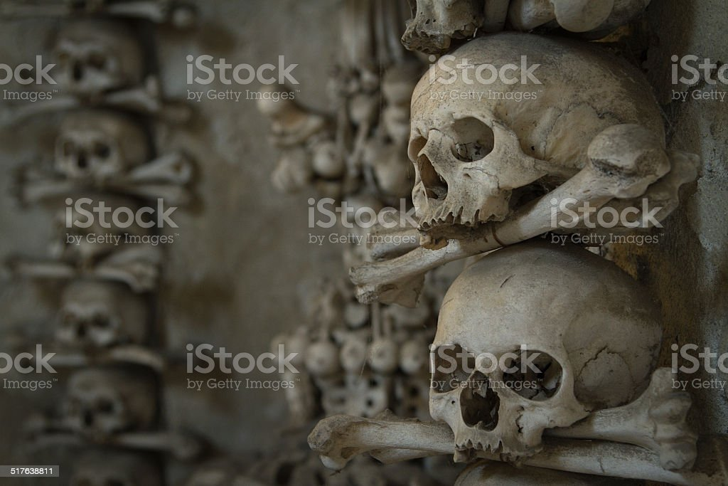 Ossuary. stock photo
