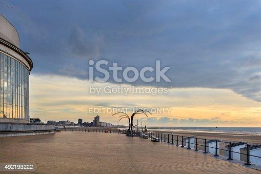 istock Ostend - Dansende Golven, Belgium 492193222