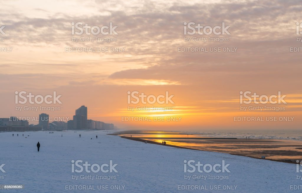 Ostend in winter​​​ foto