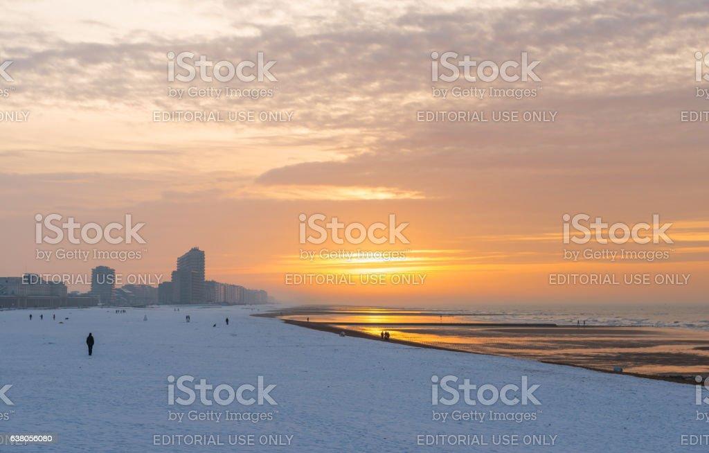 Ostend in winter foto