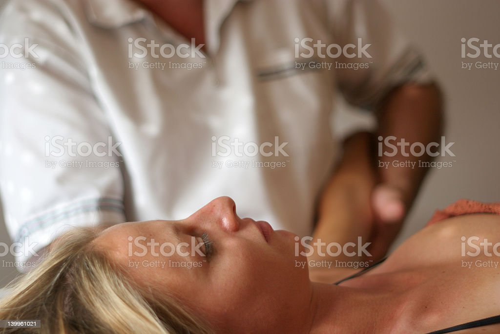 Osteopath 7 royalty-free stock photo