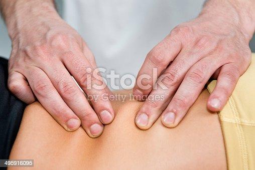Osteopathy treatment detail