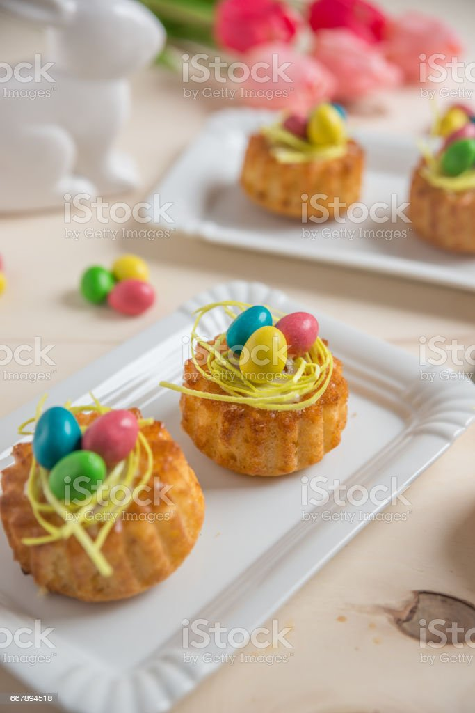 Oster Muffins royalty-free stock photo
