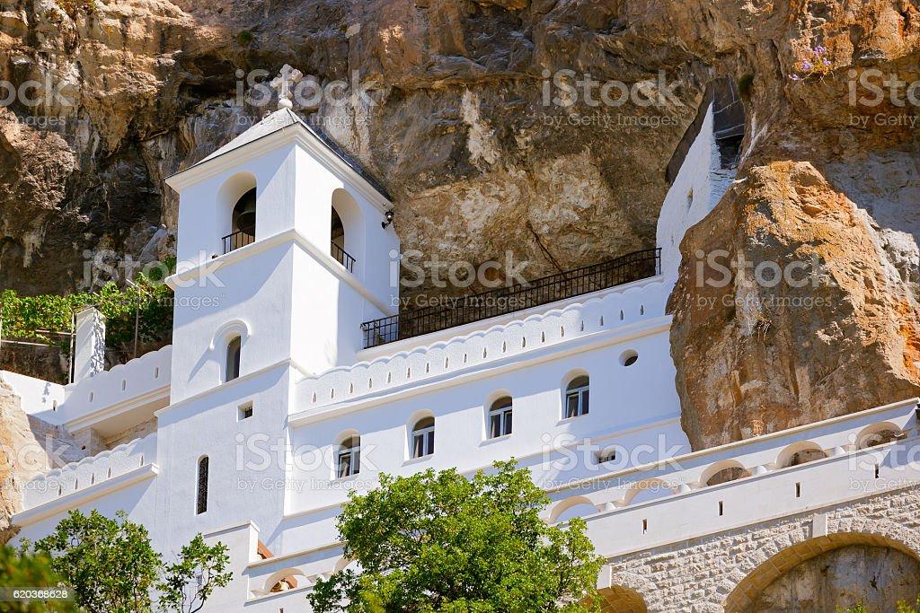 Ostrog monastery - Montenegro zbiór zdjęć royalty-free