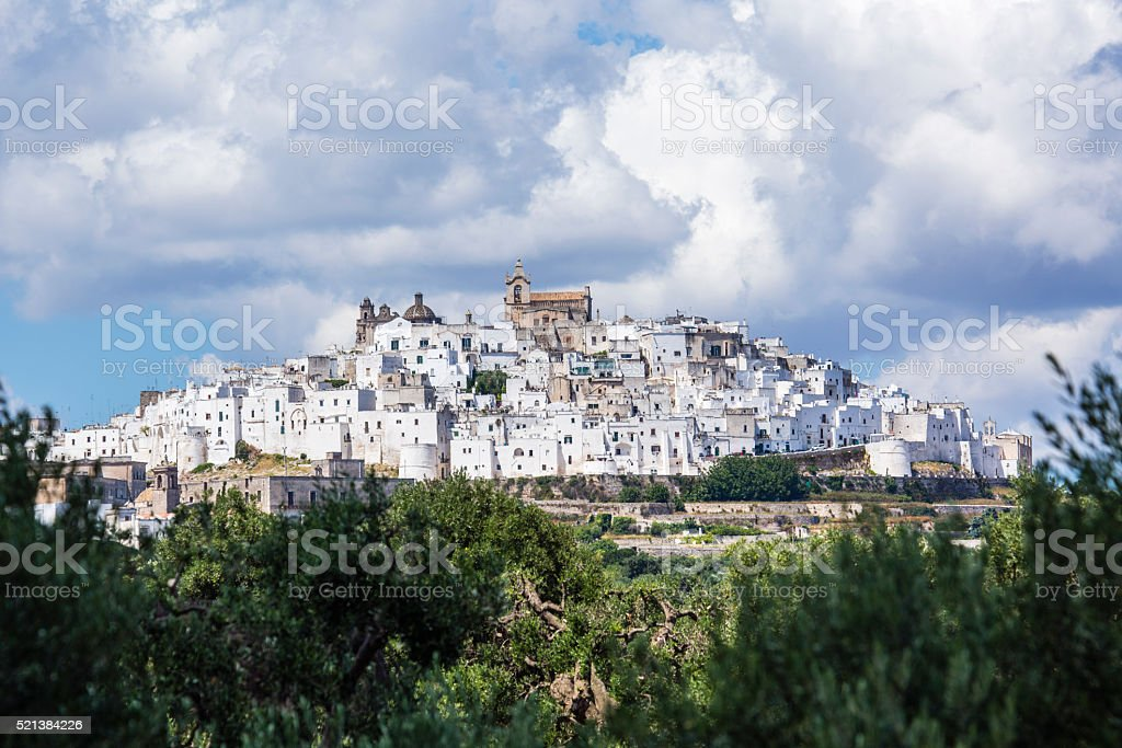 Ostuni stock photo