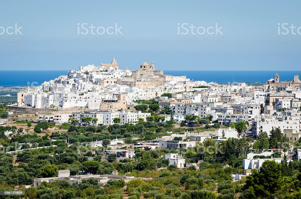 Ostuni, Puglia (Italy) stock photo