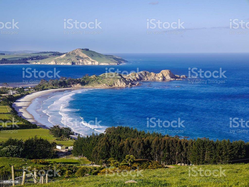 Otago, Dunedin - Beautiful Coastline, stock photo