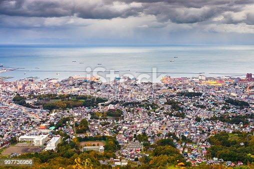 istock Otaru, Hokkaido, Japan Town Skyline 997736986