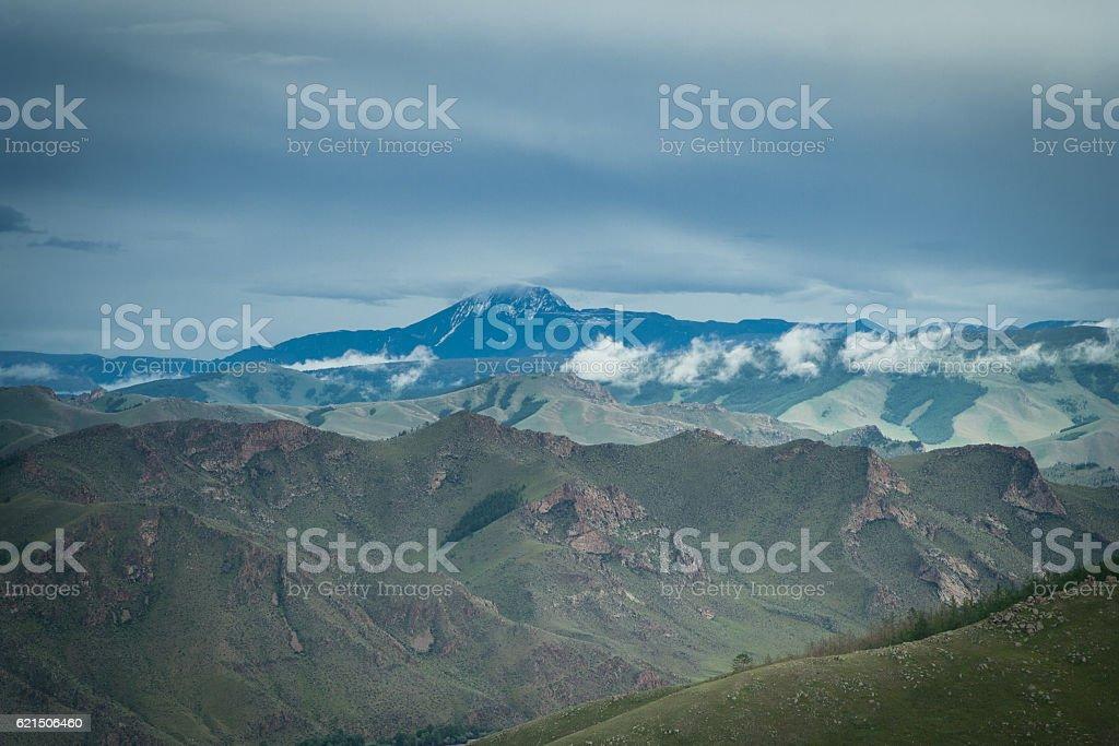 Otgontenger mountain Lizenzfreies stock-foto