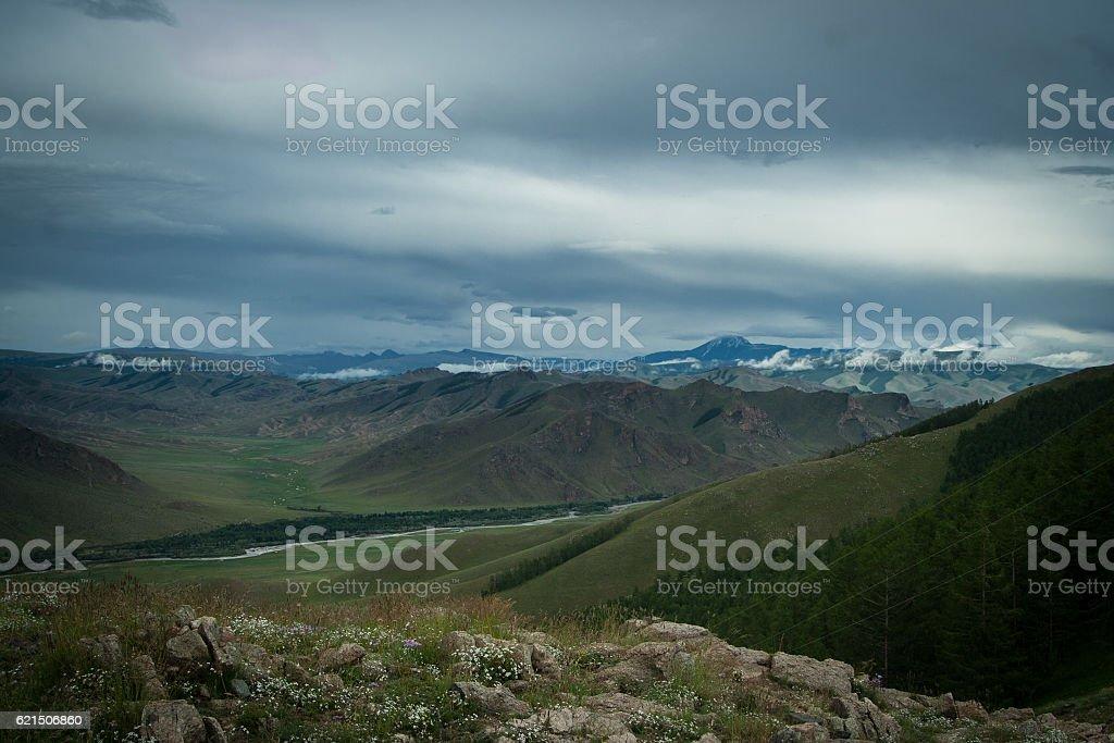 Otgontenger mountain photo libre de droits