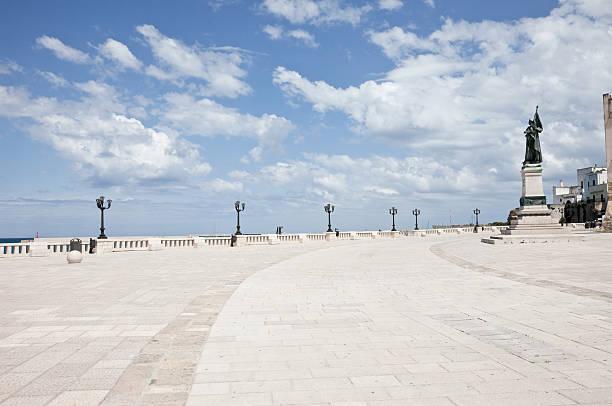 Otranto Seafront stock photo