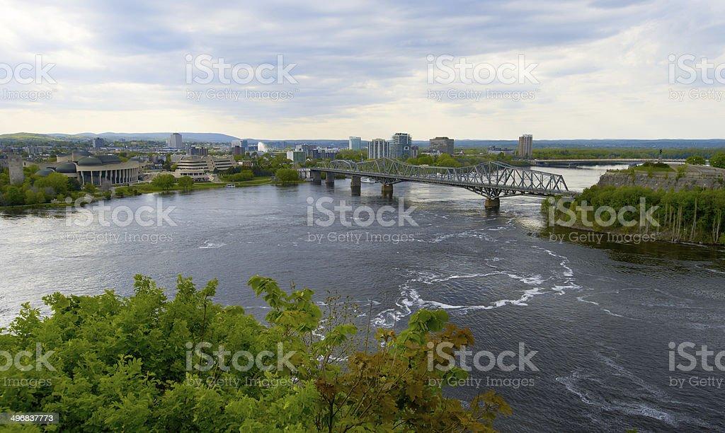 Ottawa city view royalty-free stock photo