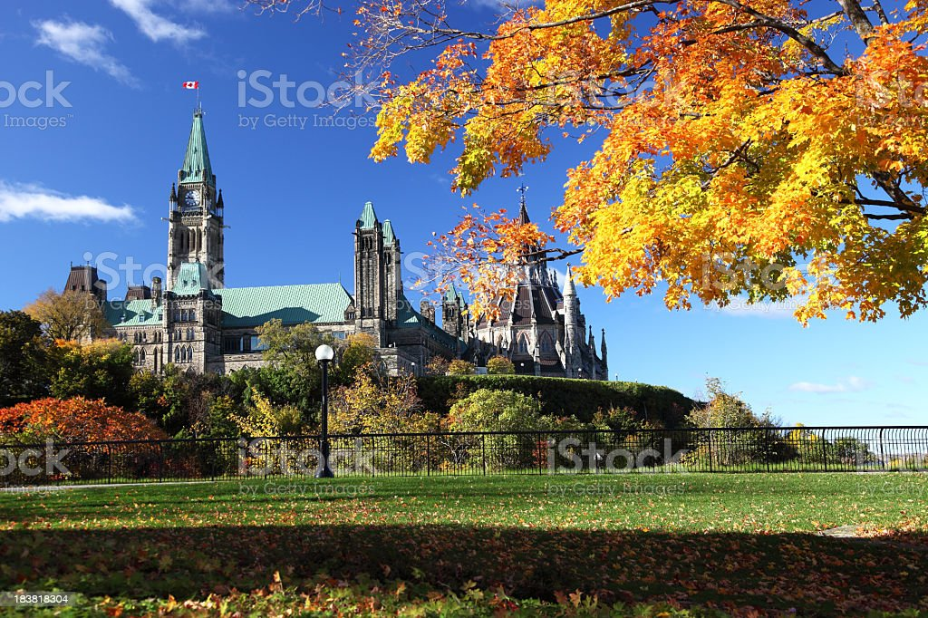 Ottawa in Autumn stock photo