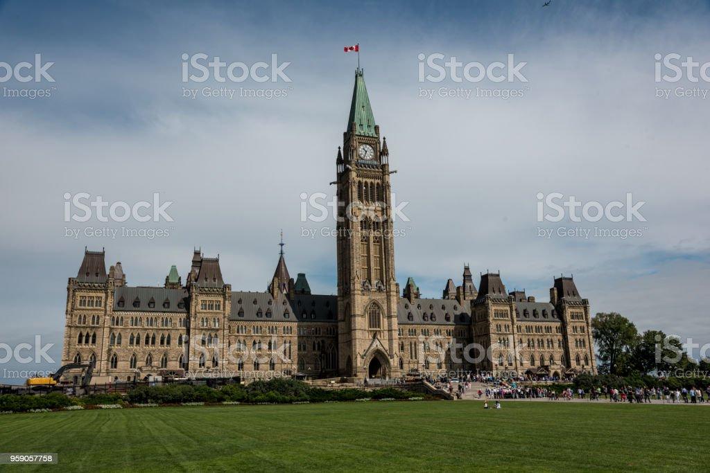Ottawa: Parliament Building - foto stock