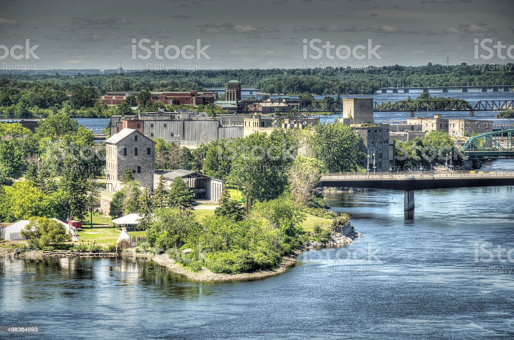 Ottawa River royalty-free stock photo