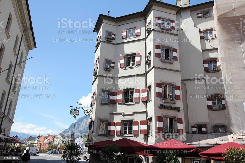 Ottoburg, Innsbruck, Tyrol, Austria stock photo