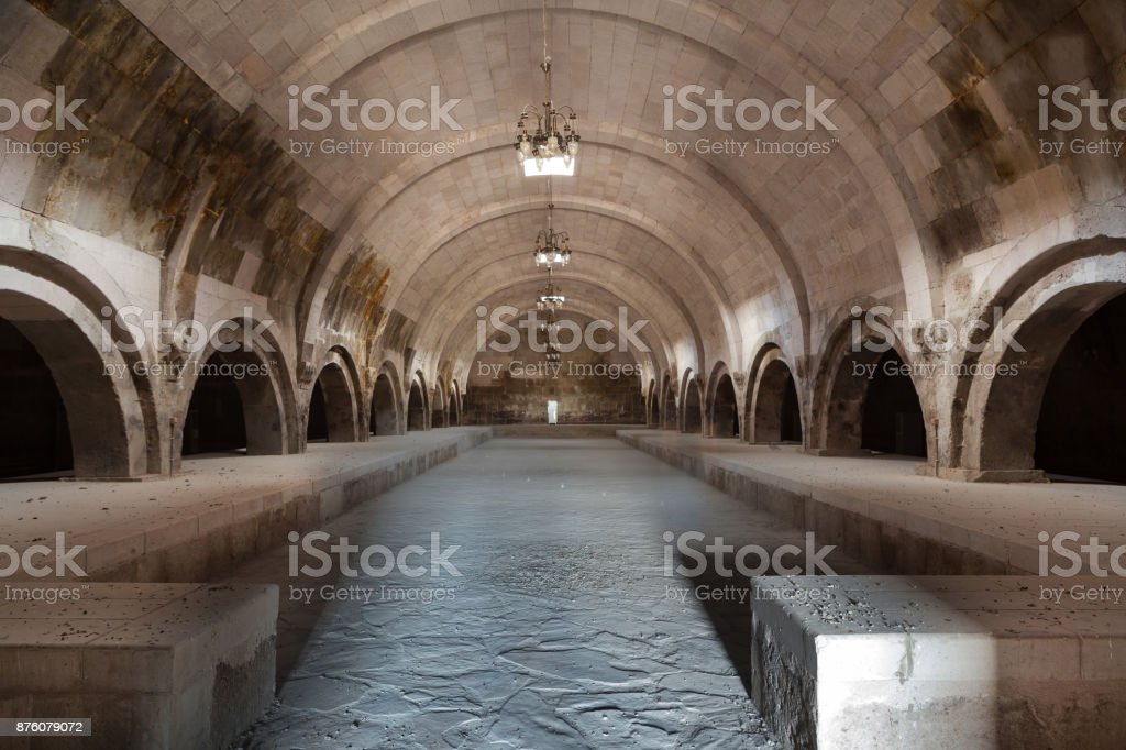Ottoman caravanserai stock photo