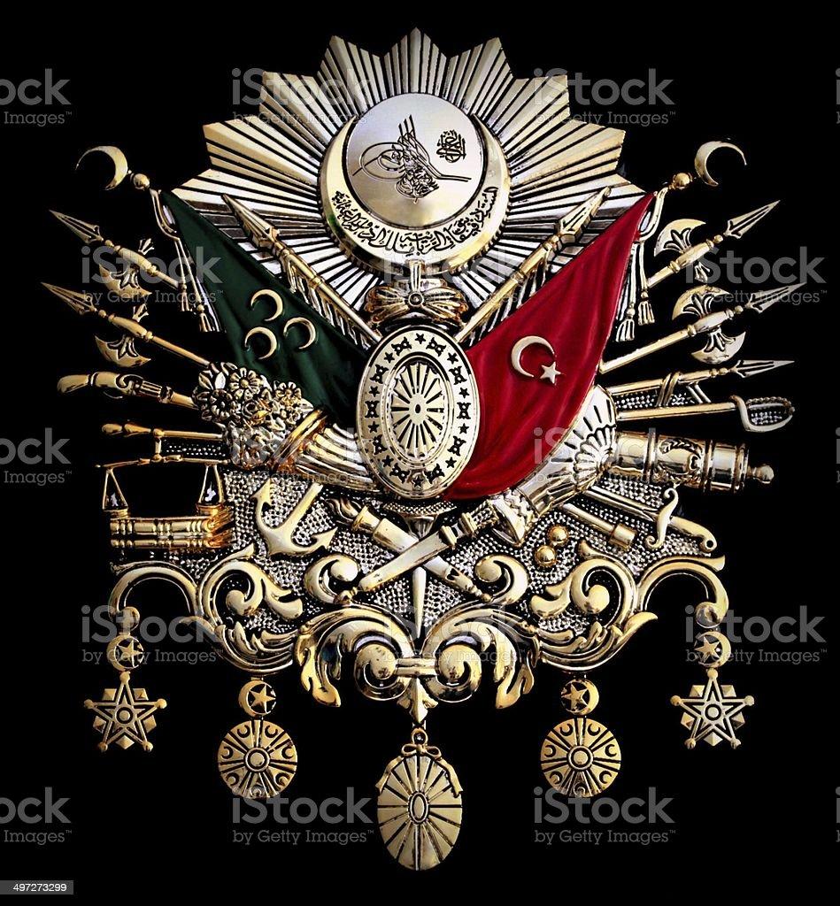 Ottoman Empire Emblem stock photo