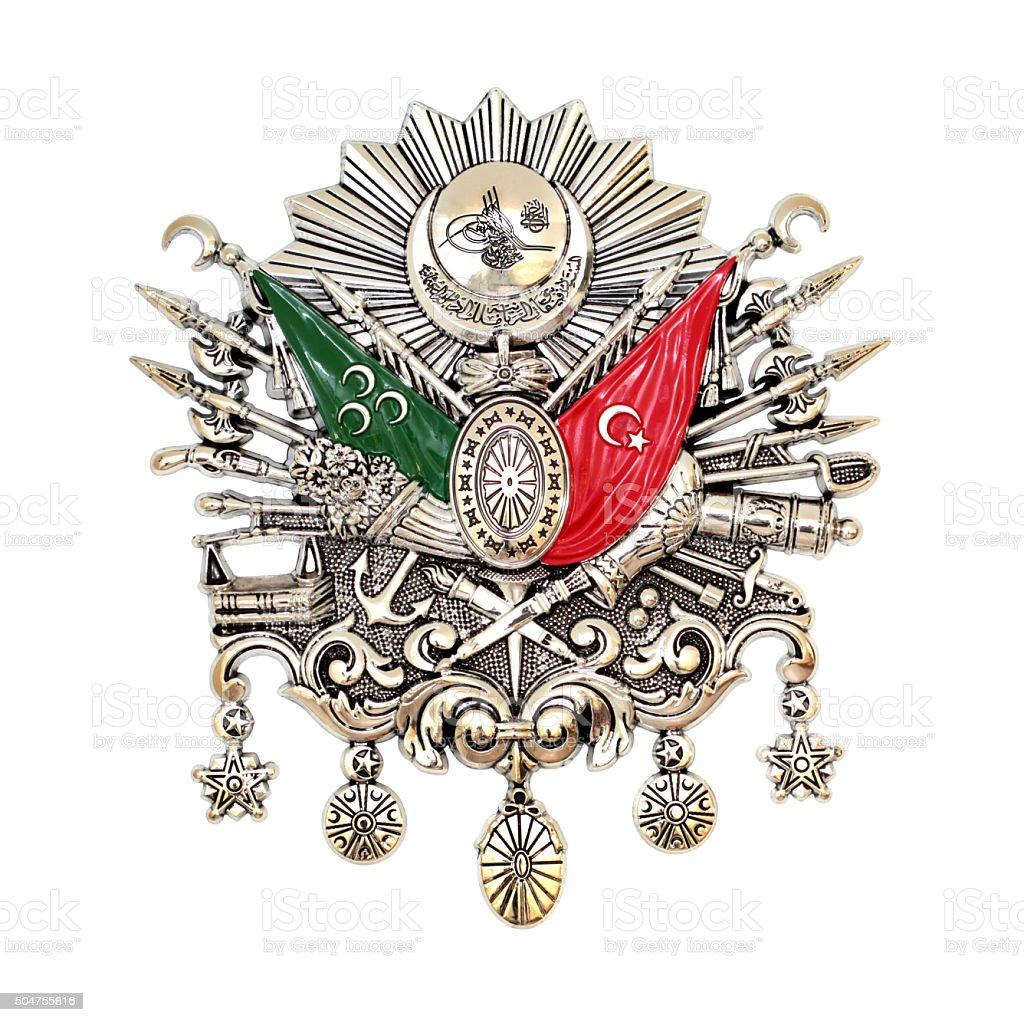 Ottoman Empire Emblem ( Old Turkish Symbol ) stock photo