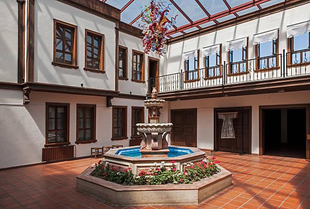 ottomane häuser - indoor wasserbrunnen stock-fotos und bilder