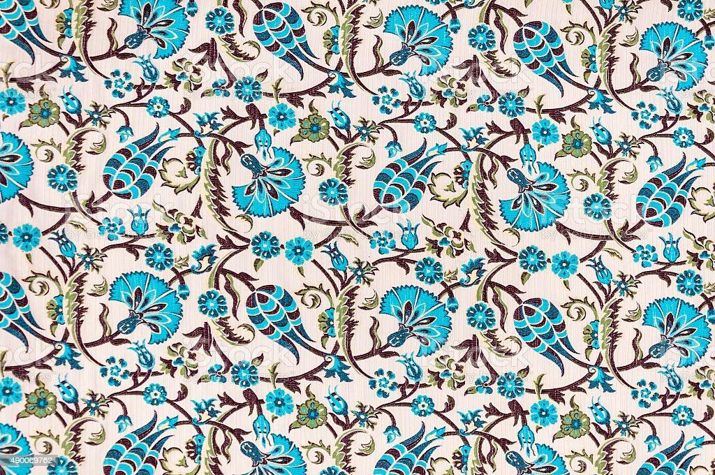 Ottoman textile stock photo