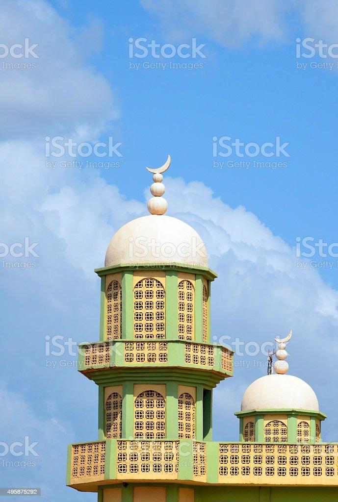 Ouagadougou, Burkina Faso, Loudun avenue Mosque stock photo