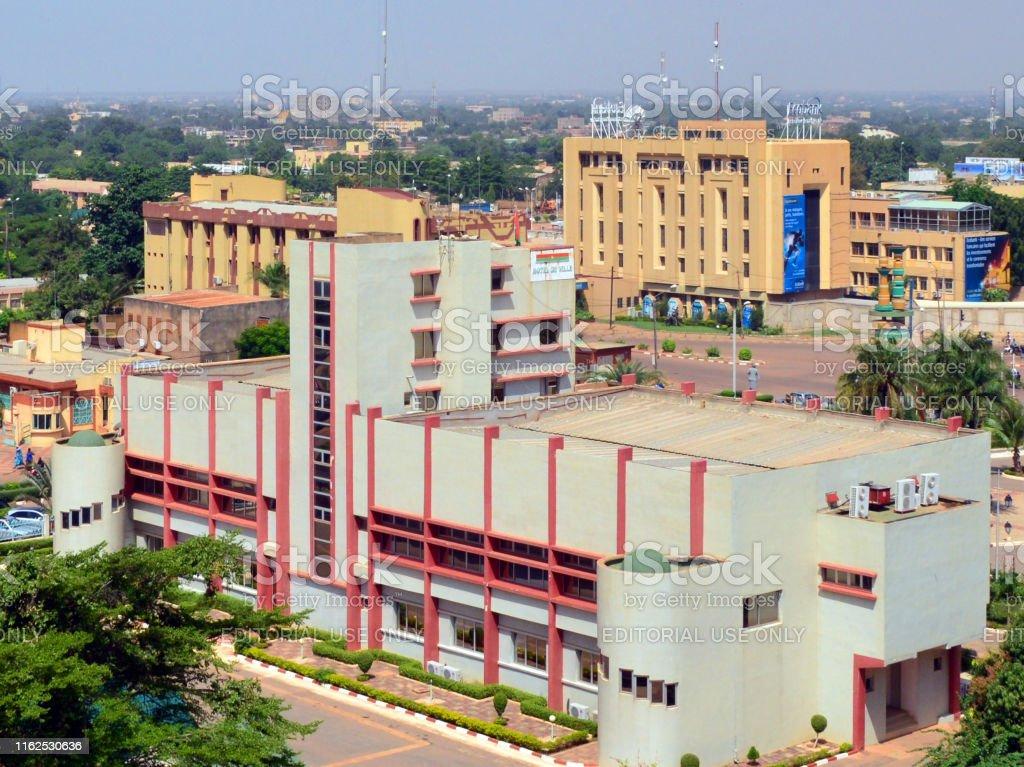 Ouagadougou City Hall Burkina Faso Stock Photo - Download