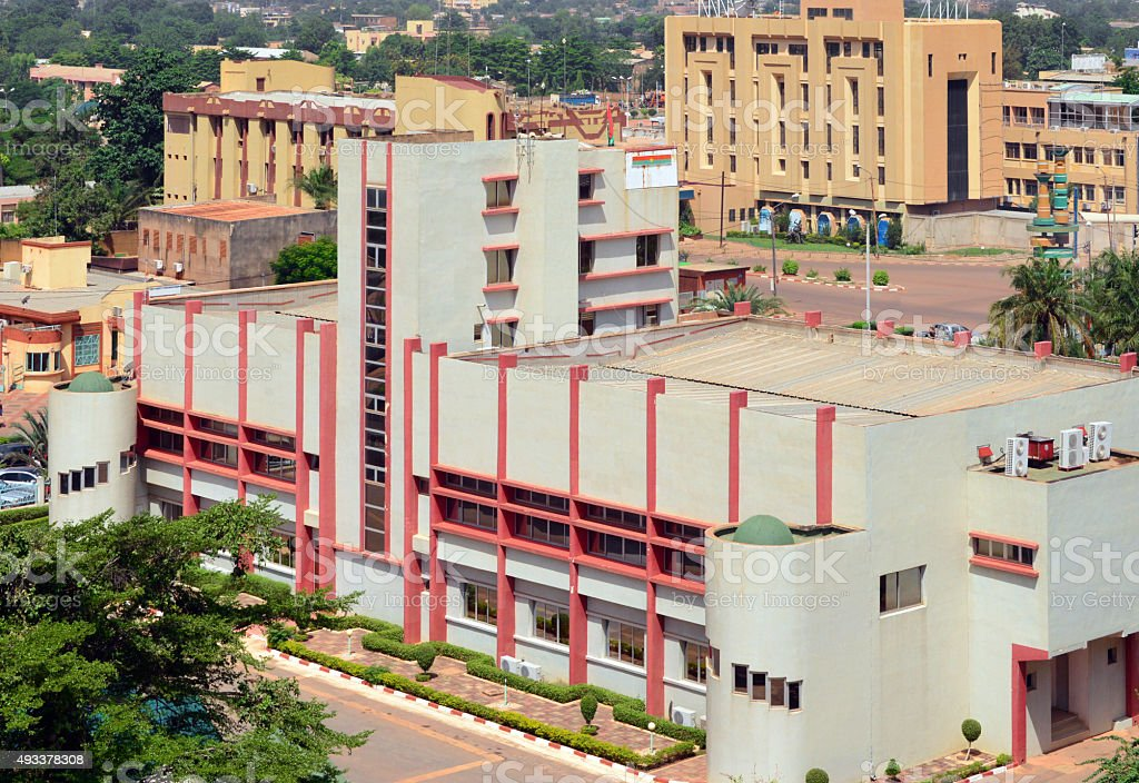 Ouagadougou City Hall Stock Photo - Download Image Now
