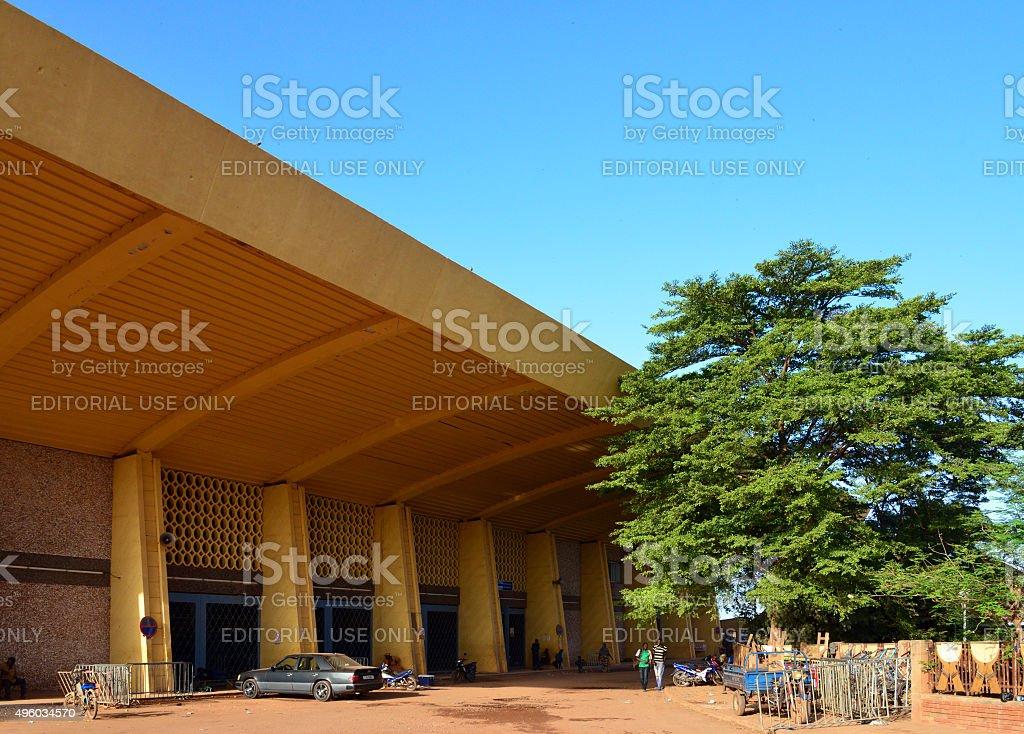 Ouagadougou train station stock photo