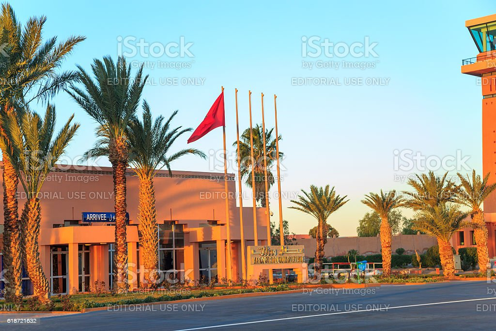 ouarzazate airport picture id618721632
